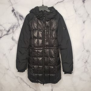 NWOT Noize quilted puffer longer coat